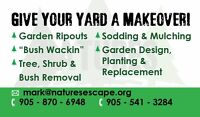 Nature's Escape -fall cleanup, winterizing and snow removal