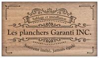 Sablage de plancher DISPONIBLE AU VACANCE, Planchers Garanti INC