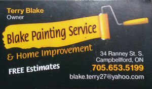 Blake Painting and Home Improvement Kawartha Lakes Peterborough Area image 1