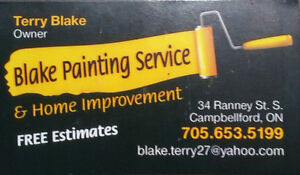Blake Painting and Home Improvement Kawartha Lakes Peterborough Area image 1