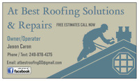 DON T WAIT CALL AT BEST ROOFING TODAY FULLY LICENSED AND INSURED