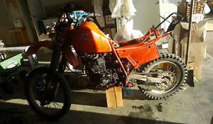 1984 XR500R runs perfect need gone.