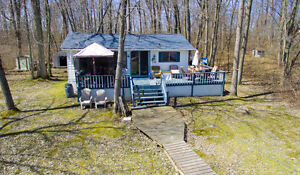 Water access cottage on Trent River! Just Listed!