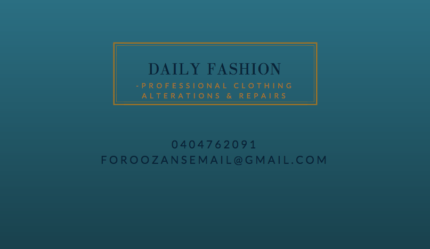 Professional Clothing Alterations and Repairs