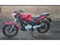 For swap or sale 2013 lexmoto 125cc