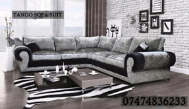 tango corner couch/all variety of fabric and colors available bhOX
