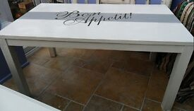 Shabby chic, 5 ft dining table