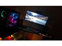 Ultra Wide LG Monitor 1080p 34inch mint condition SWAPS FOR SMALLER MONITOR CAN COLLECT