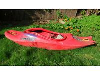 Used Pyranha kayak for sale - £120