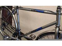"Dawes Shimano Hybrid 28"" (700C) wheels, adult man ladies lightweight town city bike £85"