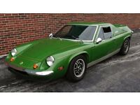 CLASSICL OTUS EUROPA WANTED IN ANY CONDITION ** ALL CLASSIC LOTUS CARS WANTED **