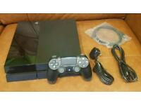 Playstation 4 500gb Black Jet with