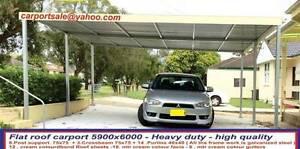 new  carport  flat roof  6  x  6  $1750 Ingleburn Campbelltown Area Preview