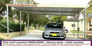 new  carport  flat roof  6  x  6  $1750 Ingleburn Campbelltown Area Preview