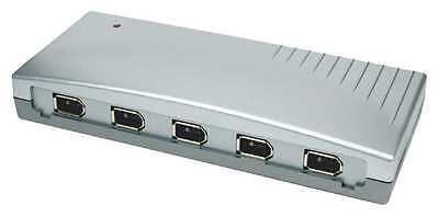 EXSYS EX-6682 - HUB FireWire 400 (1394A) mit 6 Ports