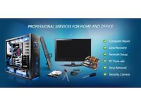 Computer and laptop service, network, graphic, repair