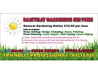 Gardening Services - Friendly - Reliable - Professional
