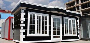 Pavillon Imbisscontainer Kiosk Verkaufsraum Designer Pavillon Geschäftsraum