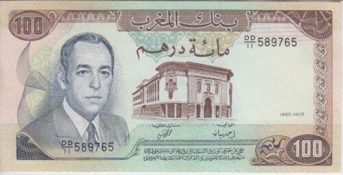 Morocco Banknote P59a 100 Dirhams 1970/1390, EF