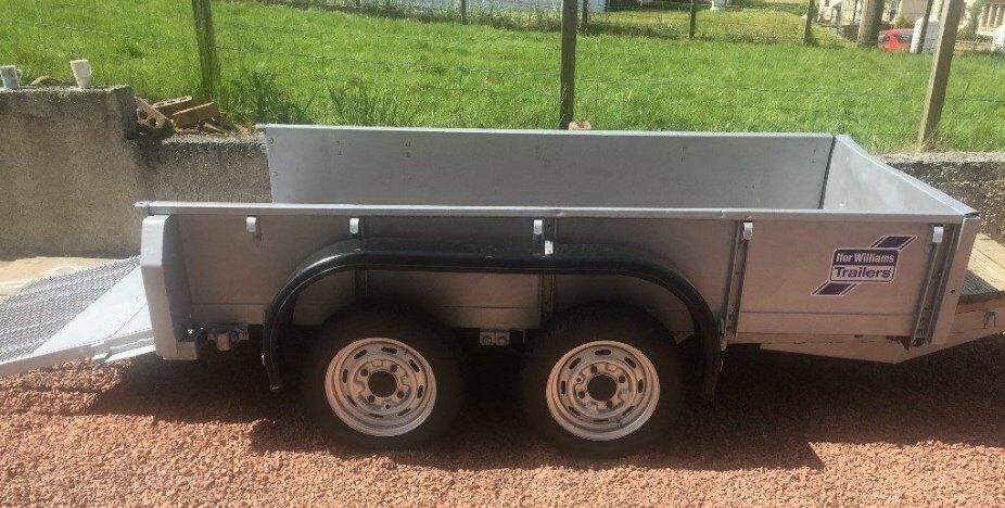 Ifor Williams GD84 Twin Axle 8x4 Plant Trailer