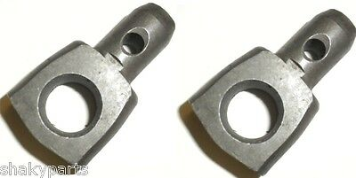 (2) Craftsman 175689 Front Trunnions Compatible With Husqvarna 532175689