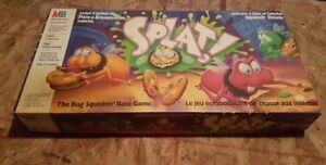 Vintage. The Bug Squishing Race Board Game 1990 Milton Bradley