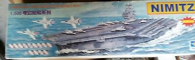Nimitz 1:500 SCALE MODEL Trumpeteer US Aircraft Carrier Series No.01/CVN-68 NEW