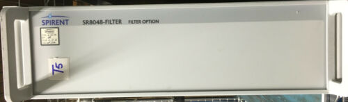 Spirent Sr8048-filter Filter Option, S/n Ntf331a1