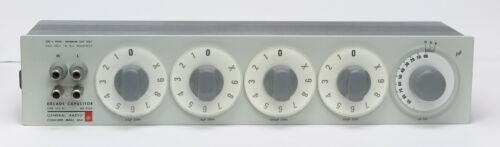 General Radio GenRad QuadTech IET 1412-BC Decade Capacitor 1412BC 50pF-1.11115µF