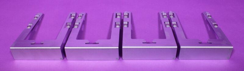 Set of 4 Genuine Apple Mac Pro 2009 2010 - 2012 Hard Drive Tray - Sleds & Screws