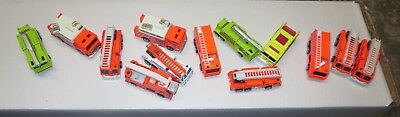 MAISTO Neon Firetruck Collection!13 cars! The wheels go 'round! for sale  Shipping to India