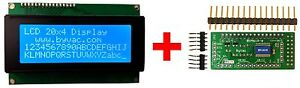 20x4-LCD-Display-Module-With-I2C-Serial-and-Keypad-Controller
