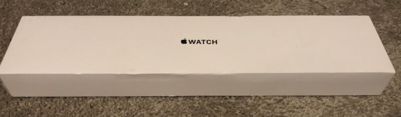 EMPTY BOX & INSERTS ONLY Apple Watch Series 1 42mm Space Gray Aluminum -NO WATCH