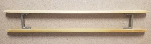 "Rack Shuttle- Maple with metal bracket- Large 24"""