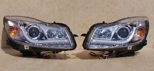 VAUXHALL INSIGNIA 09 ON CHROME LIGHT BAR DRL DAYTIME RUNNING HEADLIGHTS E MARKED