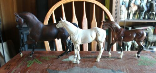 Lot of three Breyer custom bodies