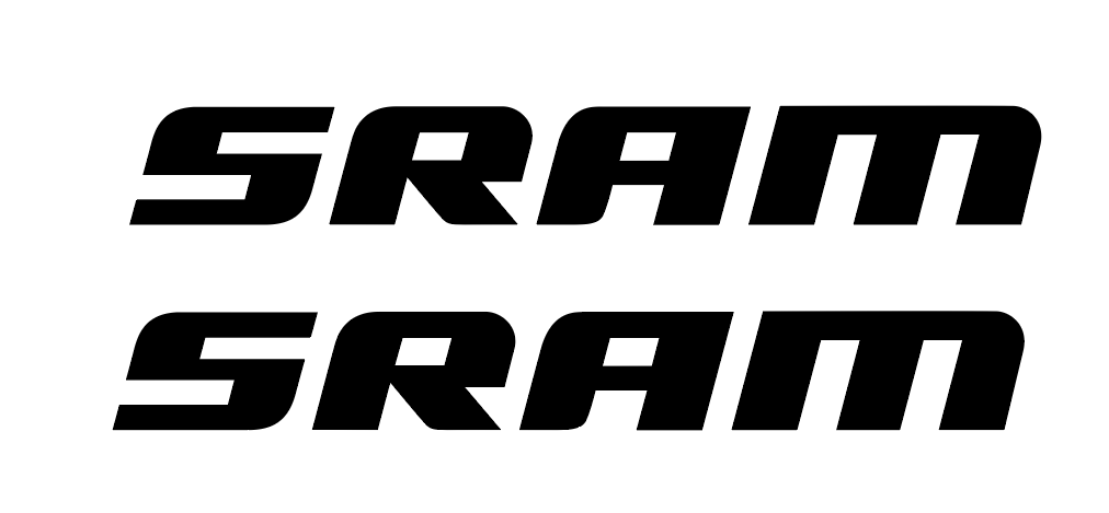 SRAM DECALS  QTY  FREE SHIPPING