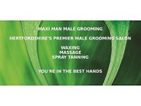 Male Waxing, intimate, Brazilian Waxing, back waxing and Spray tanning for men