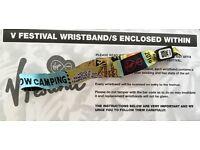 1 V Festival Weekend Camping