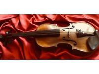 Antique HOPF 4/4 Violin all ready to play.