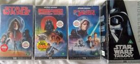 STAR WARS VHS - original AND remastered versions.