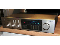 Pioneer SA720 Integrated HiFi amp Silver front 65w