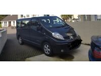Renault trafic sport minibus Manual 2.0L 115 bhp Diesel, £8,500