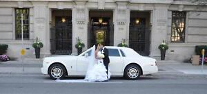 GTAs Newest White Rolls Royce Phantom Limo Limousine Wedding City of Toronto Toronto (GTA) image 9