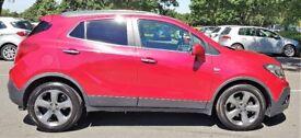 2014 Red Vauxhall Mokka SE TURBO Start/Stop. 52000 Miles 1364 cc Leather Seats petrol £7150.00