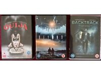 Ouija, Beyond and Backtrack DVDs - all 3 for £5
