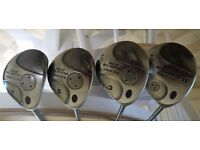 Callaway Great Big Bertha,Hawk Eye Titanium Driver, 3, 5 and 7 Woods