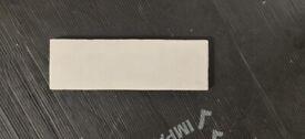 Artesano White 6.5cm x 20cm Wall Tile - 10 Boxes / 5m2 ( (Marais / Artesano White)