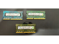 JOB LOT OF 100 - 2GB DDR 3 Ram Memory For Laptops & PC