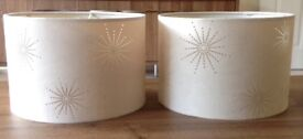 Two Matching Lampshades